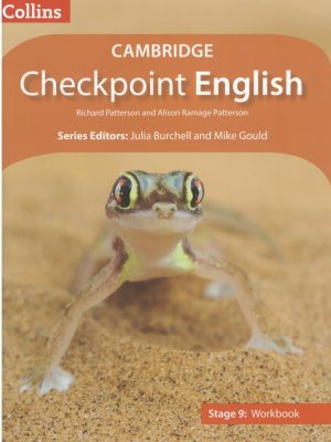 Cambridge Checkpoint English Stage 9 Workbook-1 Cover Page